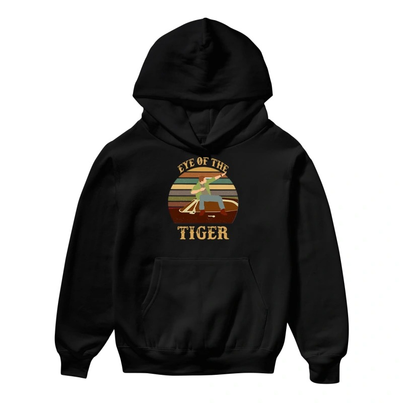 Men and Boat Eye Of The Tiger Hoodie