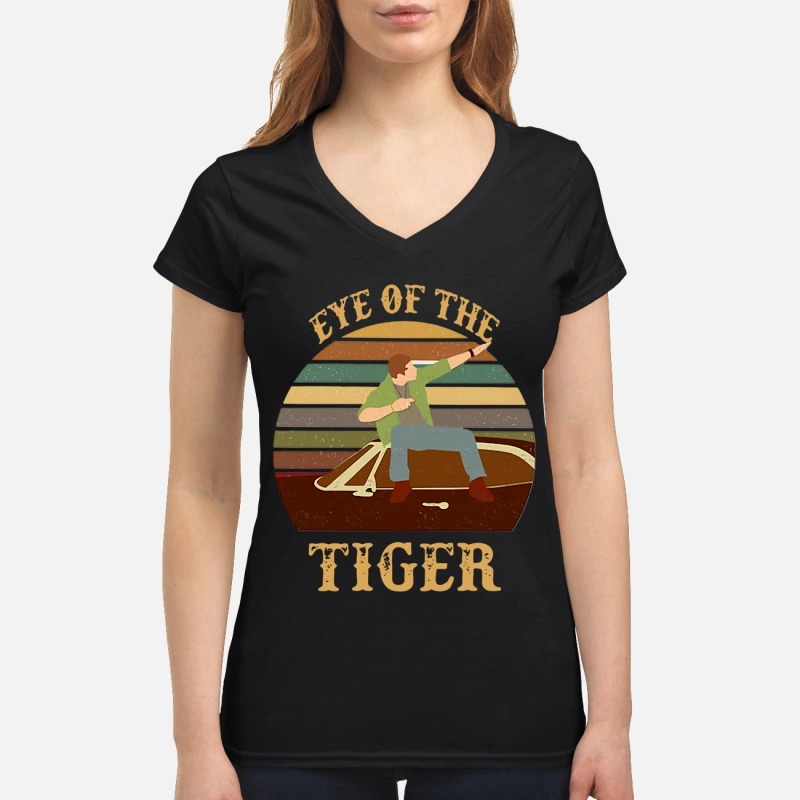 Men and Boat Eye Of The Tiger Lady T