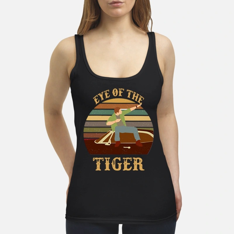 Men and Boat Eye Of The Tiger Tank Top