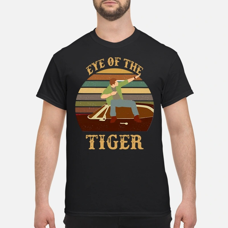 Men and Boat Eye Of The Tiger Shirt