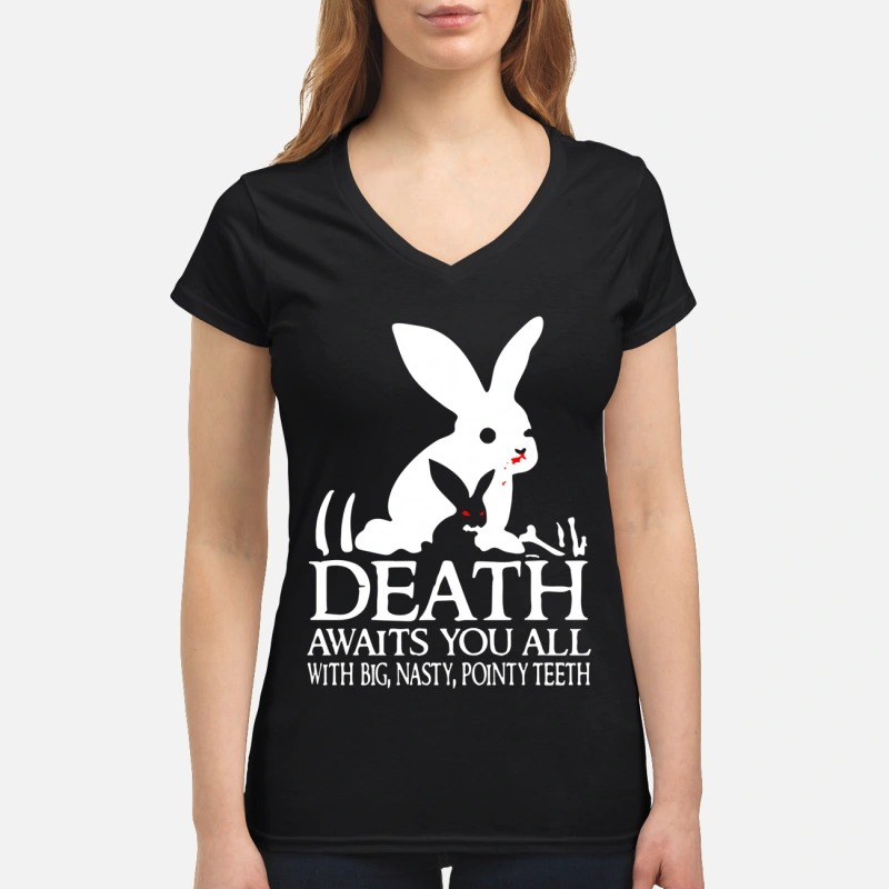 Rabbit Death Awaits You All With Big Nasty Pointy Teeth Lady T