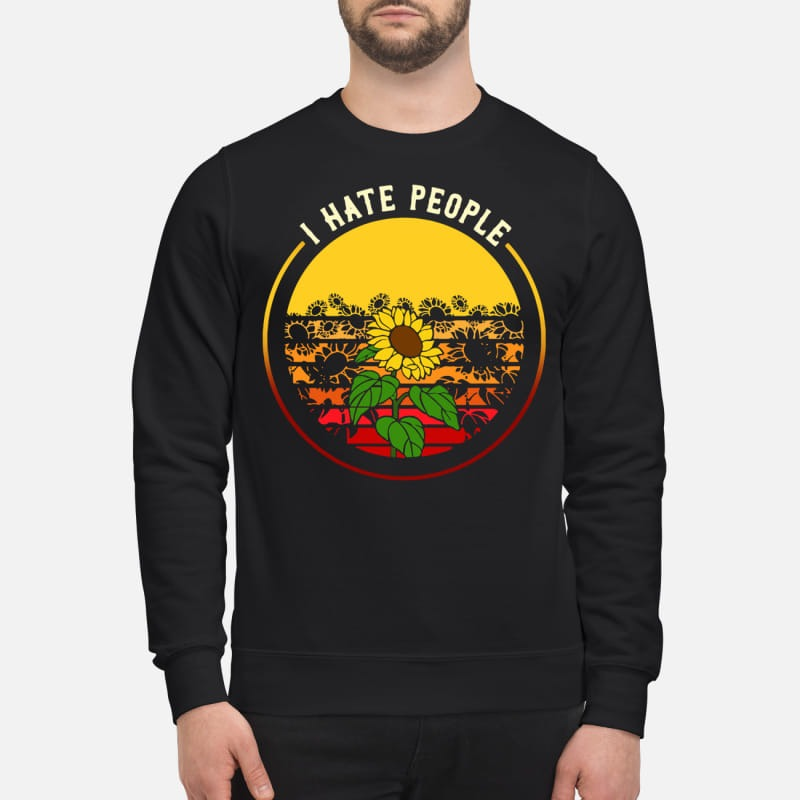 Sunflower I Have People Sweater