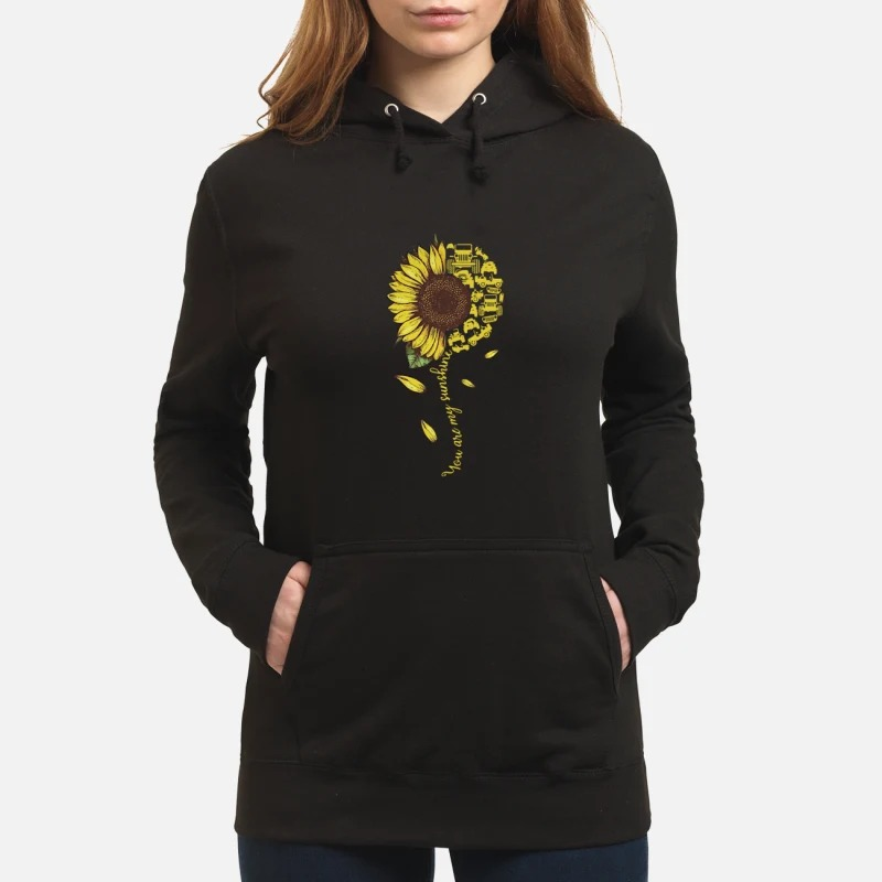 Sunflower You Are Sunshine Hoodie