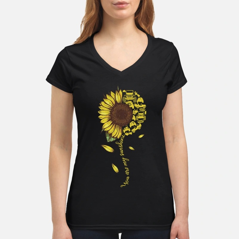 Sunflower You Are Sunshine Lady T