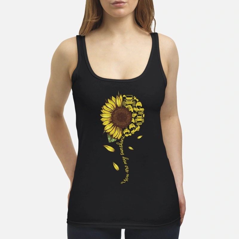 Sunflower You Are Sunshine Tank Top