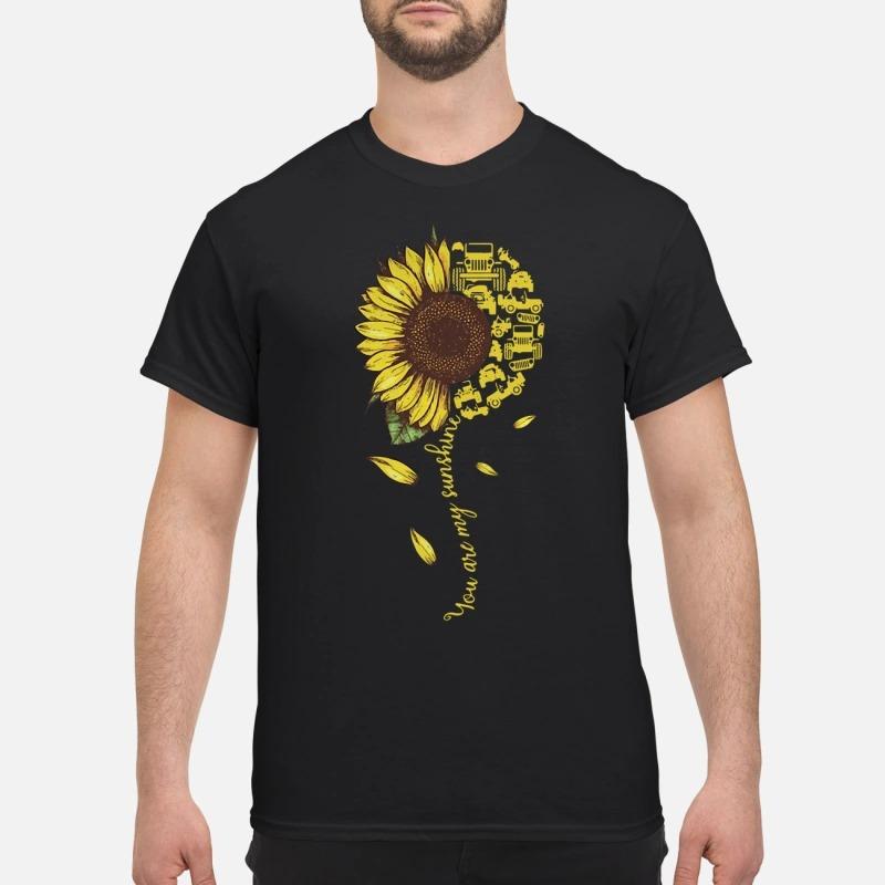 Sunflower You Are Sunshine Shirt