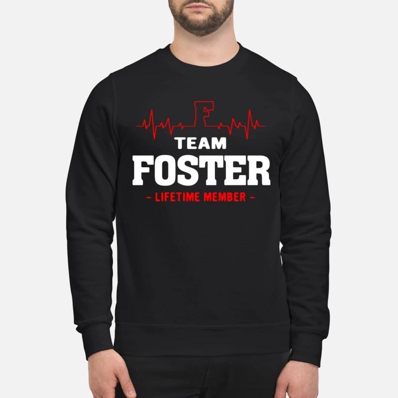 Team Foster Lifetime Member Sweater