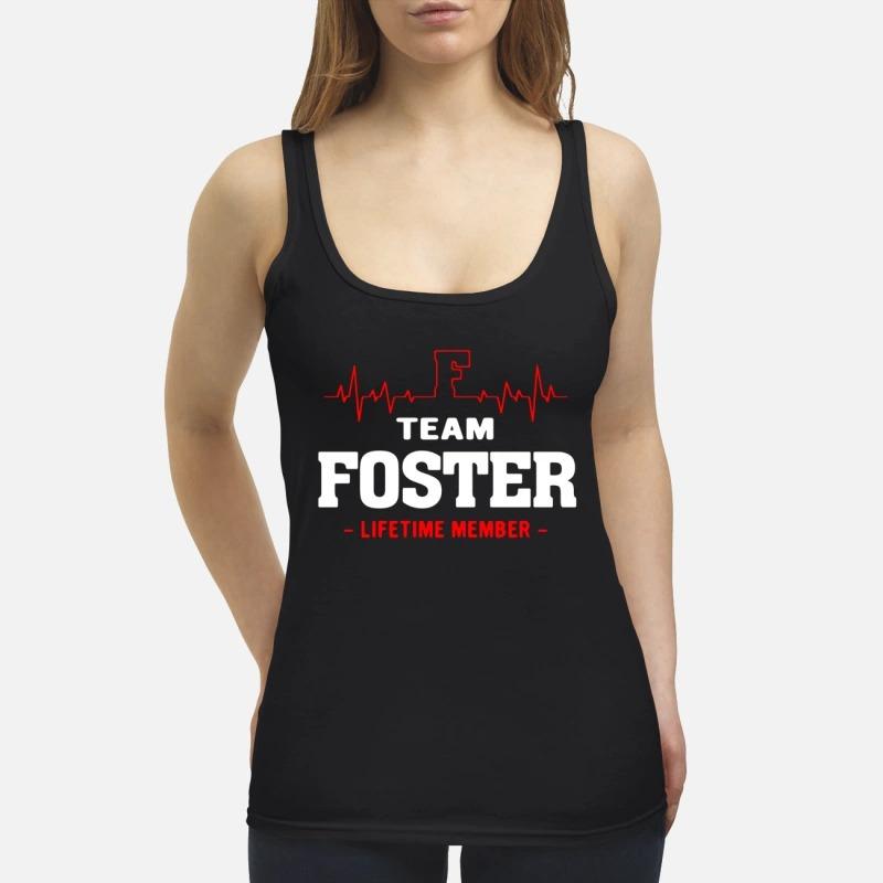Team Foster Lifetime Member Tank Top