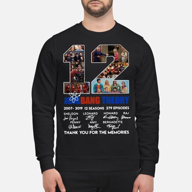 ccf4178d10 12th The Bigbang Theory 2007-2019 shirt, sweater, hoodie and tank top