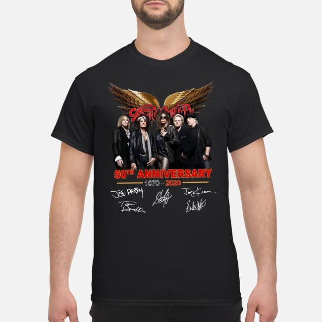 Aerosmith 50th Anniversary 1970-2020 shirt