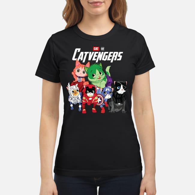 Catvengers Cats Avengers Endgame Ladies Tee
