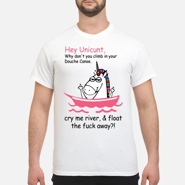 Hey Unicunt why don't you climb in your Douche canoe shirt
