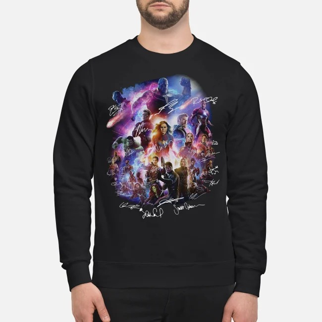 Marvel Avengers Signature love you 3000 Sweater