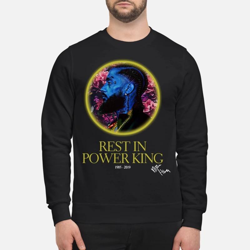 Nipsey Hussle rest in power king 1985-2019 Sweater