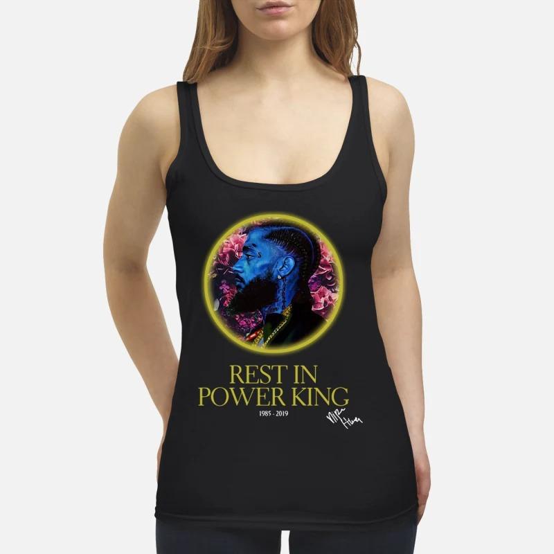 Nipsey Hussle rest in power king 1985-2019 Tank Top