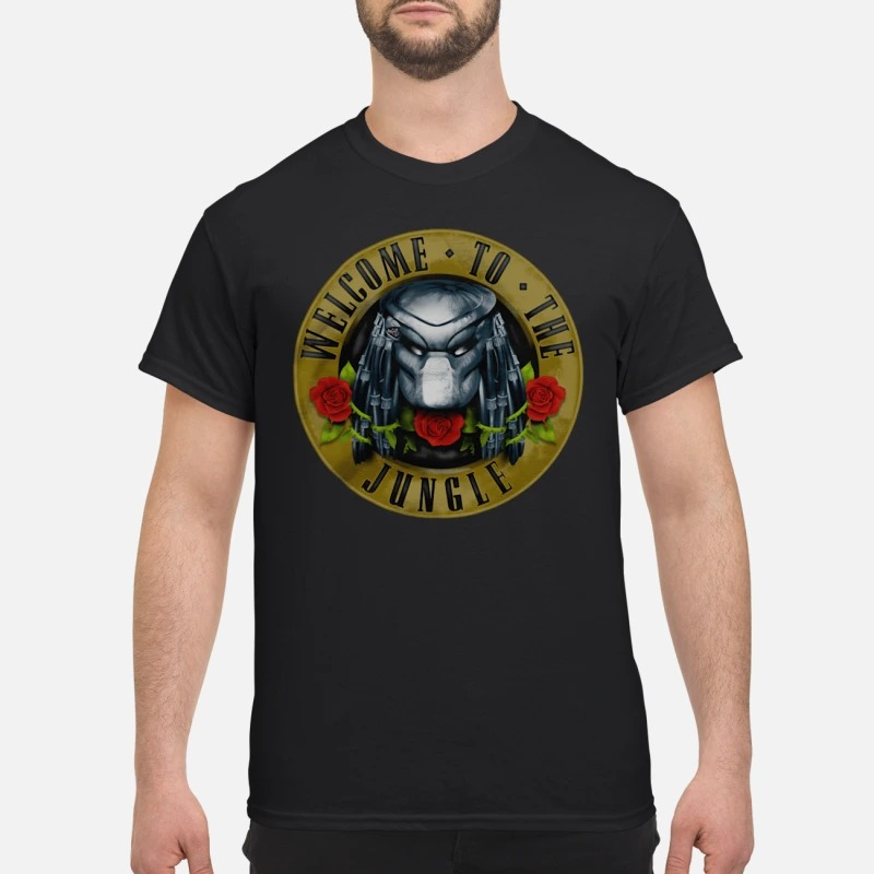 Predator welcome to the Jungle shirt