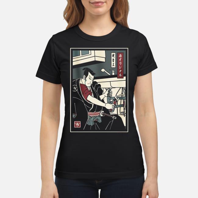 Samurai of Plumbing Ladies Tee