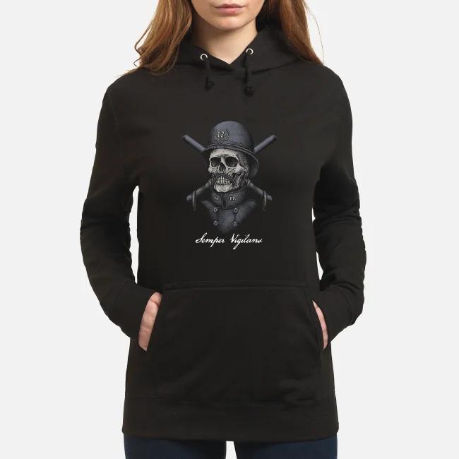 Semper Vigilans Shirt Sweater Hoodie Lady T Tank Top
