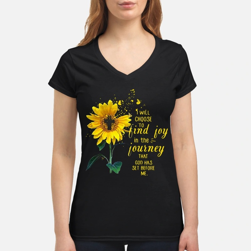 Sunflower and Jesus I will choose to find joy in the journey Lady T