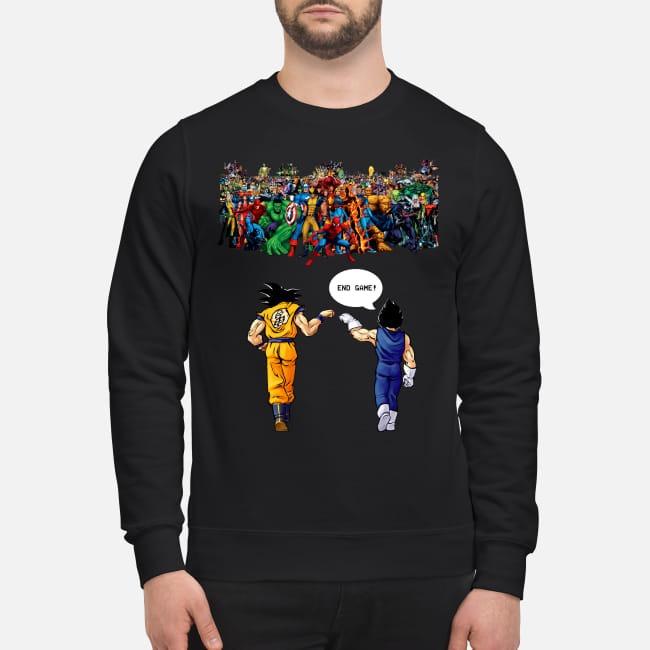 Super strength vs Goku and Vegeta Sweater