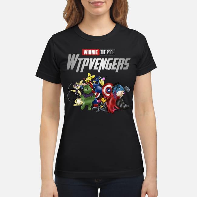 Winnie Pooh Winnieavengers Marvel Avengers Ladies Tee