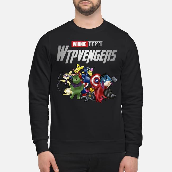 Winnie Pooh Winnieavengers Marvel Avengers Sweater