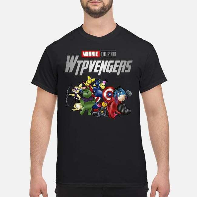 Winnie Pooh Winnieavengers Marvel Avengers shirt