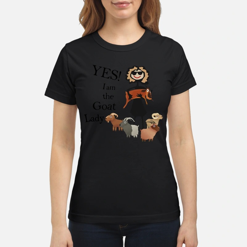 Yes! I am the goat lady Ladies tee