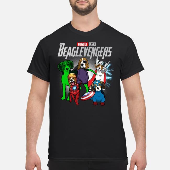 Beagle Beaglevengers Dogs Marvel Avengers Endgame shirt