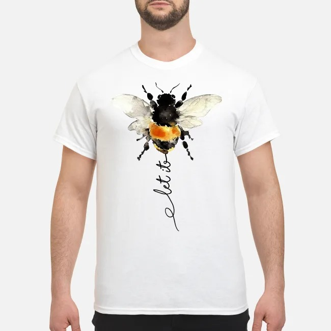 The Beatles Bees Let it be shirt