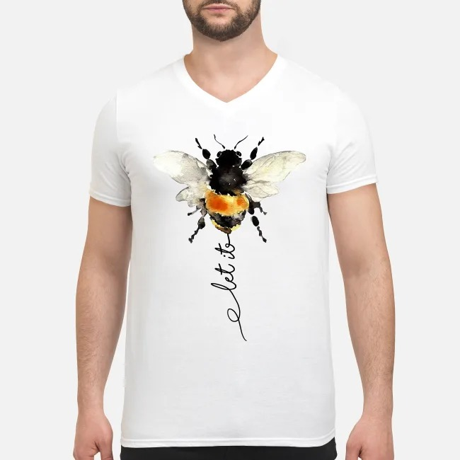 The Beatles Bees Let it be V-neck T-shirt