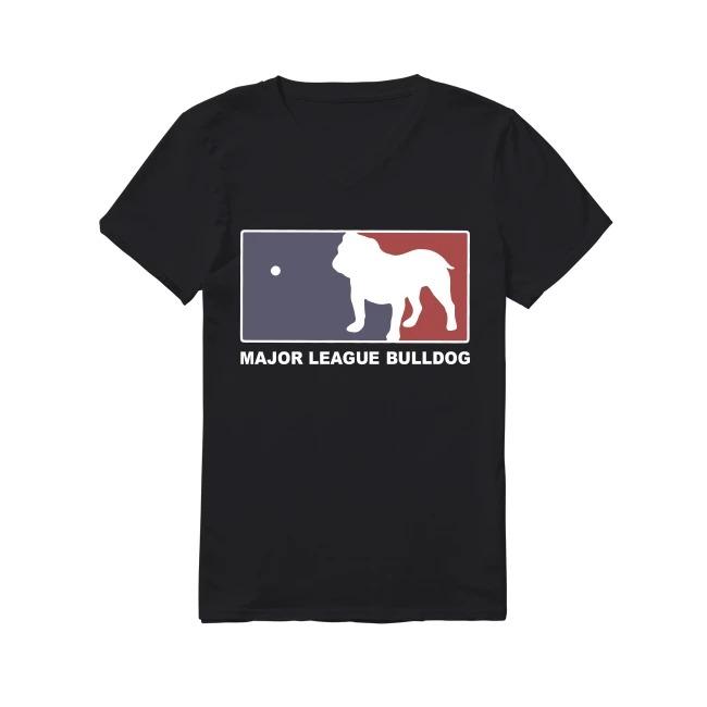 Bulldog Major League Bulldog V-neck T-shirt