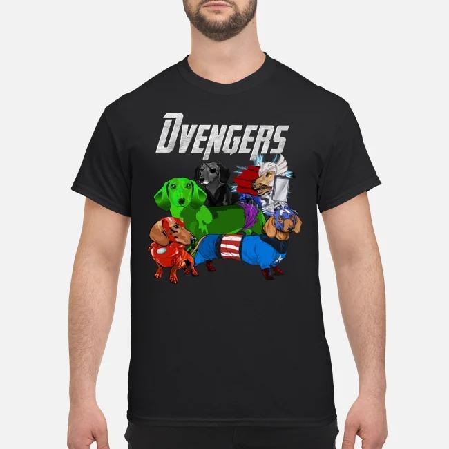Dachshund Dvengers Dogs Marvel Avengers Endgame shirt