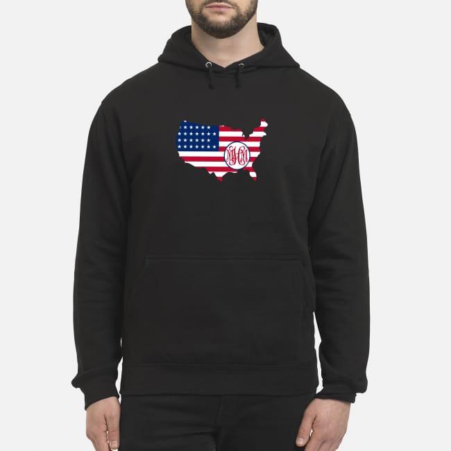 Flag America logo MHM Hoodie