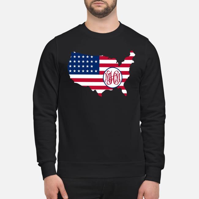 Flag America logo MHM Sweater