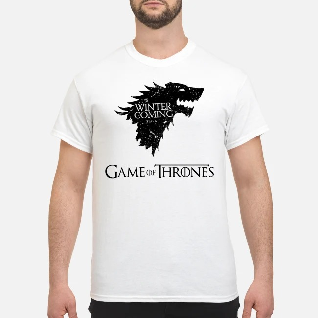 Game Of Thrones Winter is coming Stark shirt