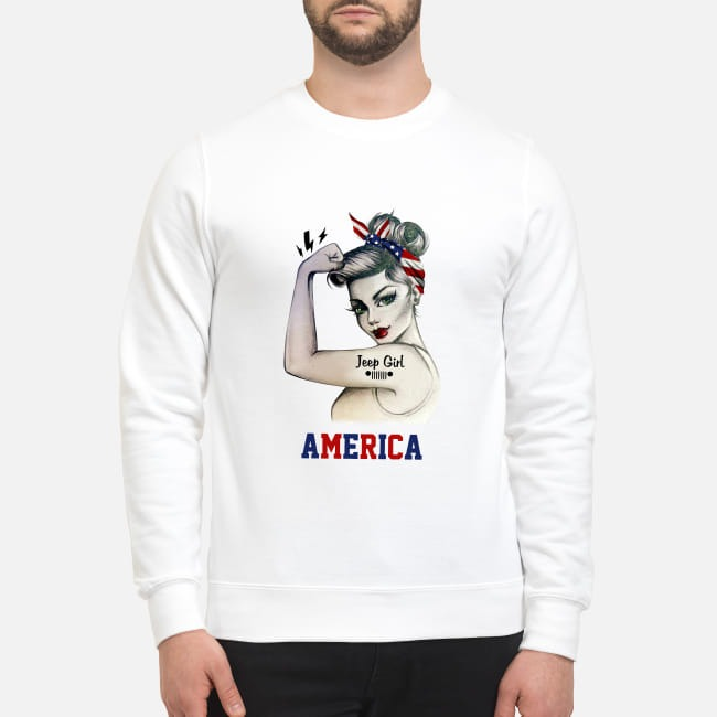 Jeep Girl America Sweater