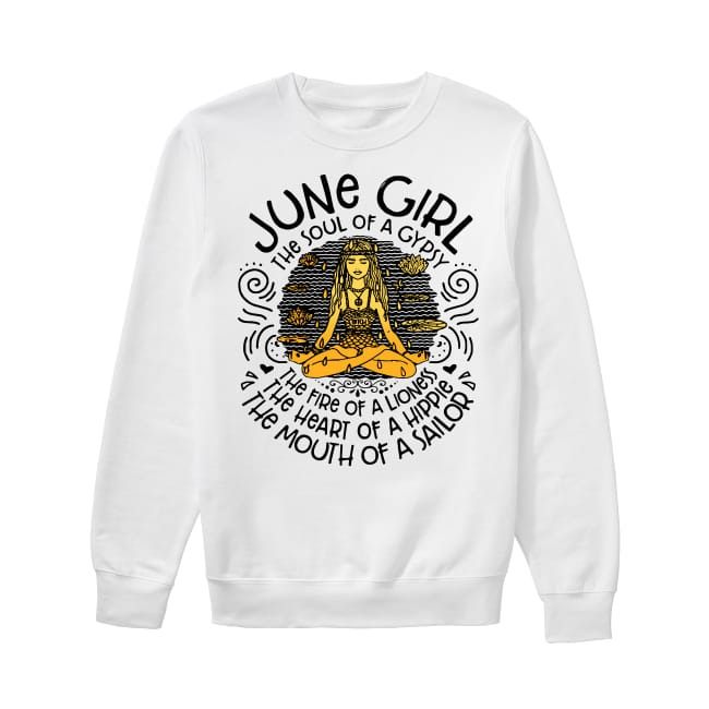 June Girl The soul of a gypsy Sweater