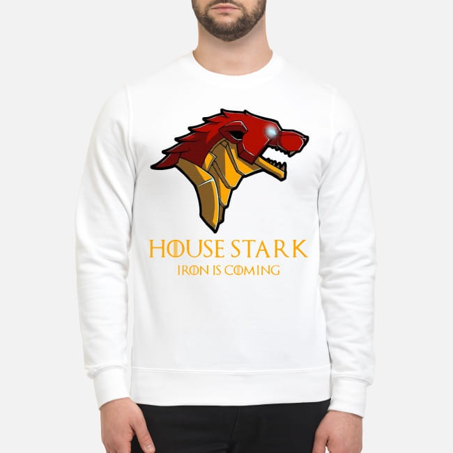 Marvel Avengers Game Of Thrones Iron Man House Stark Iron is coming Sweater
