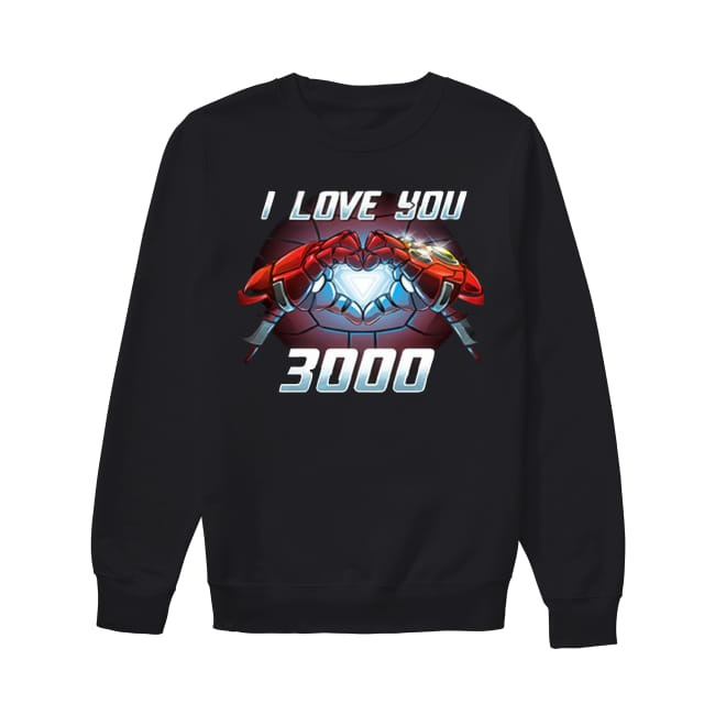 Marvel I love You 3000 Sweater
