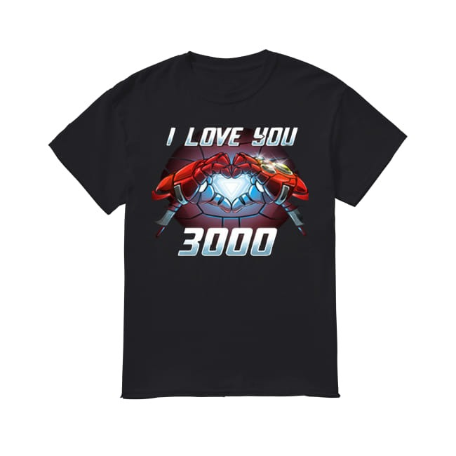 Marvel I love You 3000 shirt