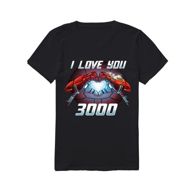 Marvel I love You 3000 V-neck T-shirt