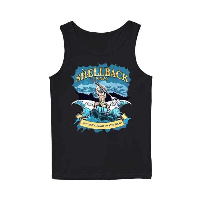 Shellback United States Navy ancient order of the deep Tank Top