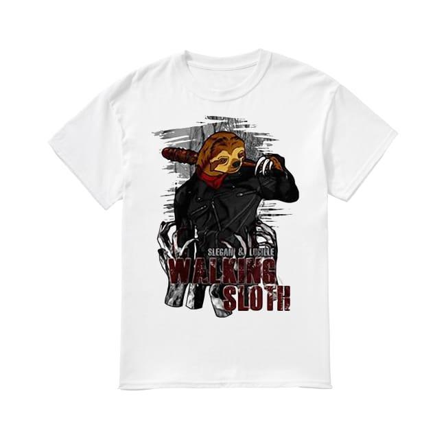 Slegan and Lucille Walking Sloth shirt