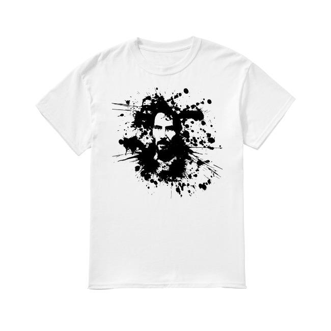 Splatterpaint Keanu Reeves John Wick shirt