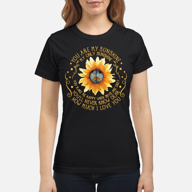 You are My Sunshine My only Sunshine Ladies Tee