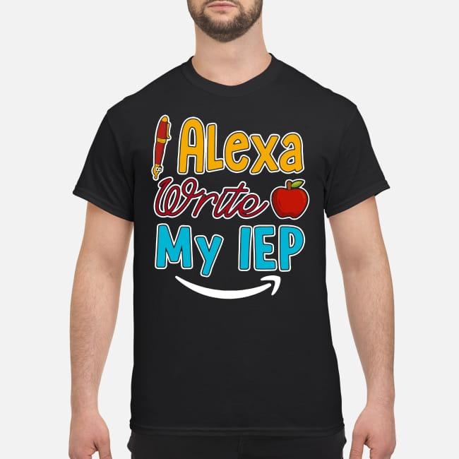 Teacher days Pen Apple Alena write my IEP shirt
