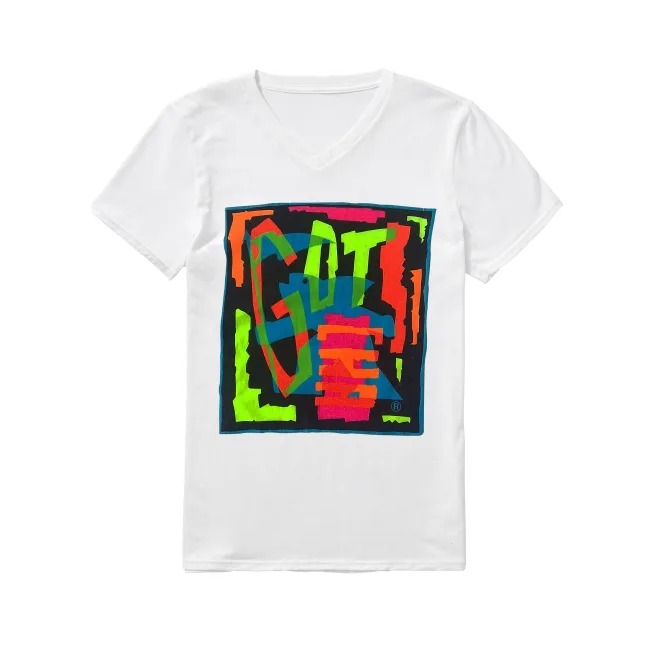 Vintage Gotcha 80's V-neck T-shirt