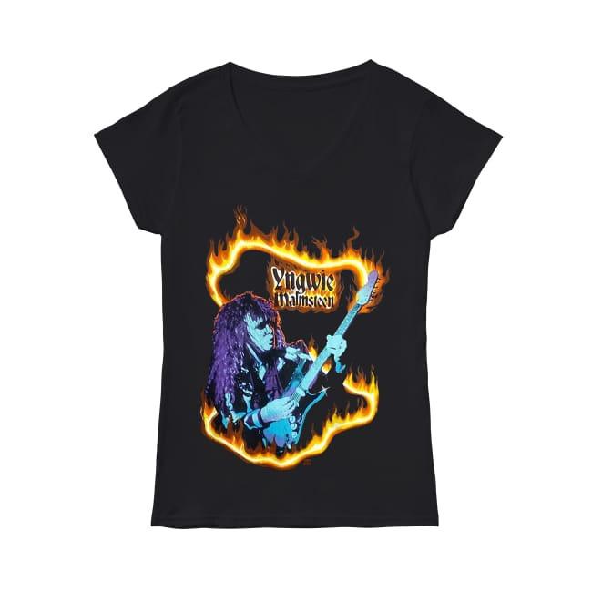 Yngwie Malmsteen 1982 V-neck T-shirt