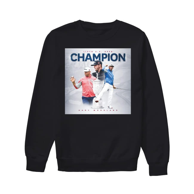 119th US Open Champion Gary Woodland Sweater
